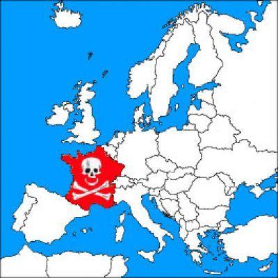 La france est plus touchée par le cancer que le reste de l'europe.