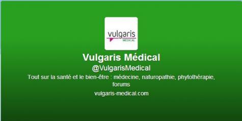 Vulgaris Médical arrive sur Twitter