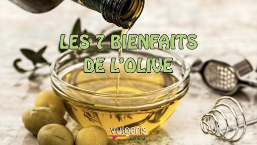 TOP 7 des bienfaits de l'olive
