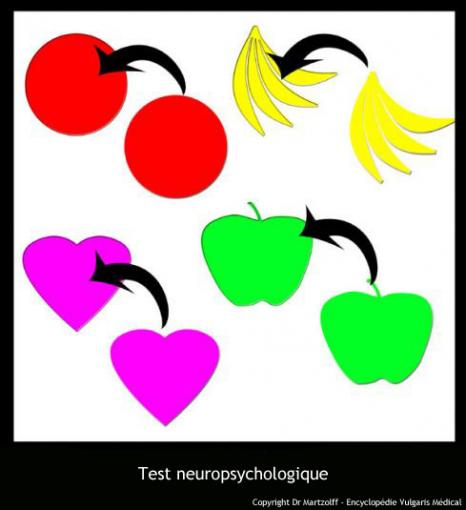 Test utilisé en neuropsychologie