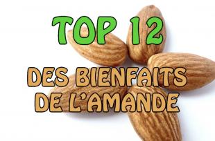 TOP 12 des bienfaits de l'AMANDE