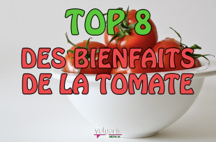 TOP 8 des bienfaits de la TOMATE