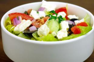 RECETTE SANTÉ - Salade grecque