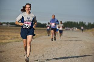 Sourire plus pour courir plus !