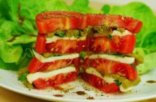 RECETTE SANTÉ : Sandwich tomate mozzarella